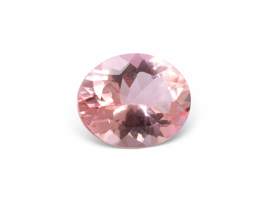 Morganite 11.97mm 8.02ct Faceted Natural Gemstone - Brazil