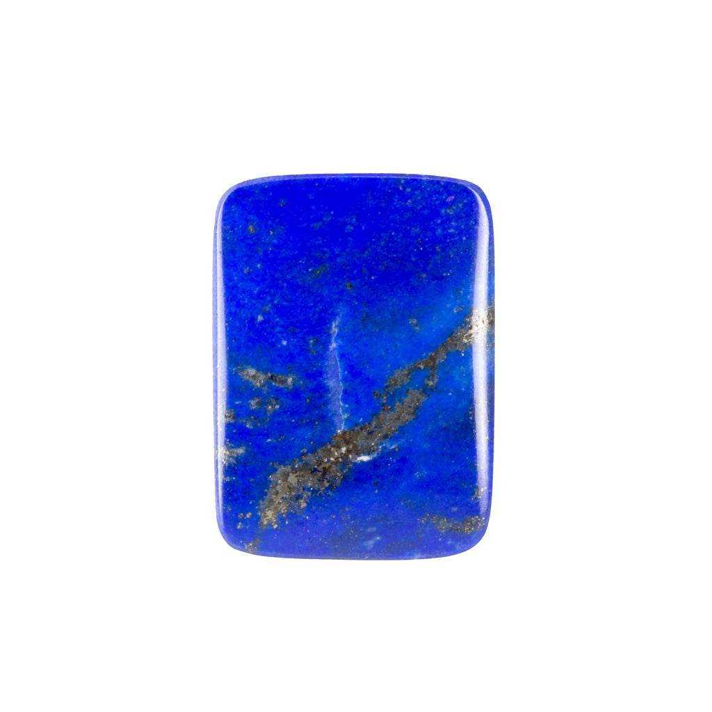 Lapis 11.64ct Polished Rectangle Cabochon