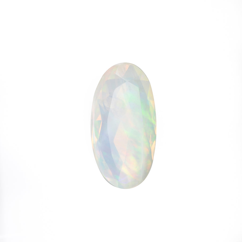 Gem Opal 7.05ct 21.79 mm Oval Faceted Gemstone