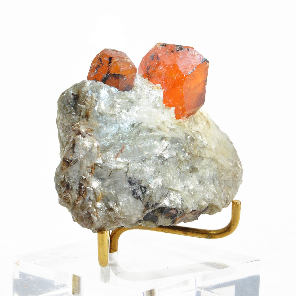 Spessartine Garnet 2.60 inch 78.8 gram Natural Gem Crystal on Matrix - Loliondo, Tanzania