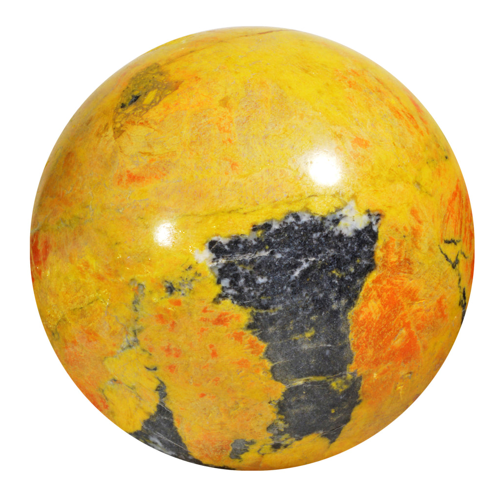 Orpiment 2.46 inch 0.90 lbs Natural Crystal Sphere - Russia