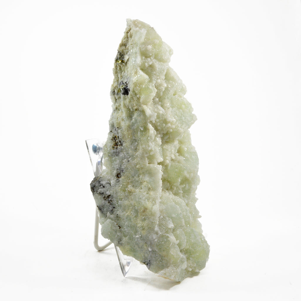 Datolite 2.76lb Natural Crystal Specimen With Apophyllite Overgrowth- Mexico