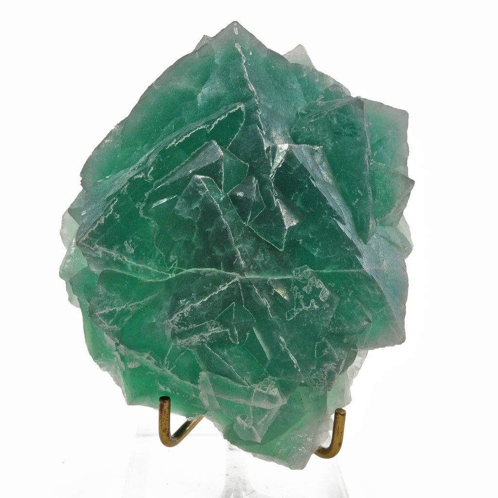 Blue Green Fluorite 4.98 inch 2.17 lbs Natural Crystal Specimen - China