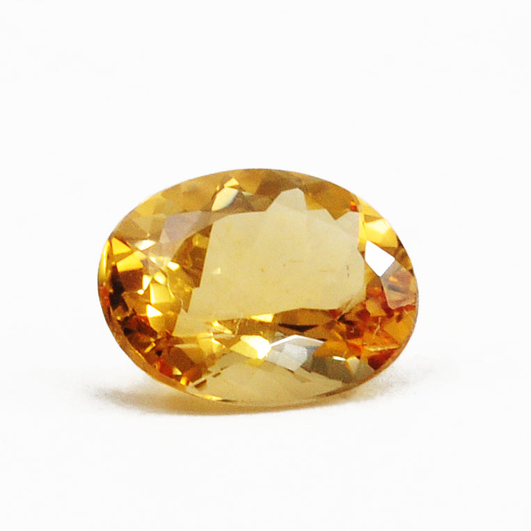 Topaz - Imperial Topaz 3.92ct Faceted Gemstone