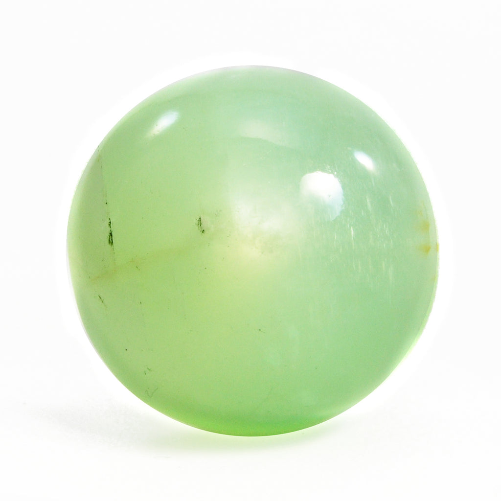 Mint Green Moonstone 43 ct Gemstone Cabochon - India