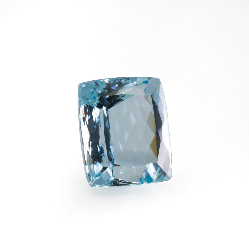 Aquamarine 11.43ct 13.96mm Faceted Gemstone