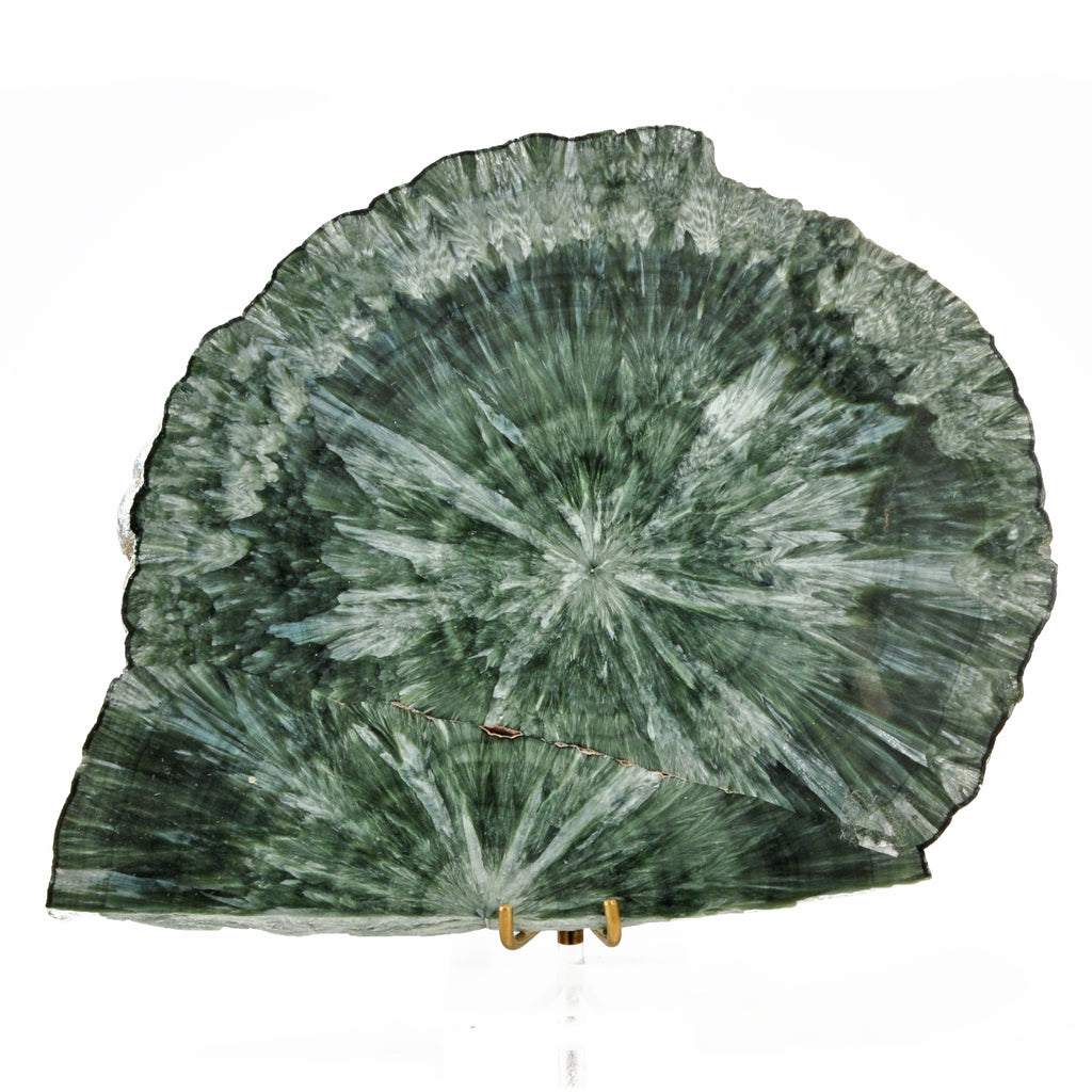 Seraphinite - Clinochlore 312.5 gram 6.3 gram Natural Crystal Slice - Russia