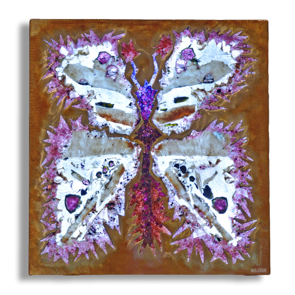 Gemstone Butterfly Illuminated Light Panel