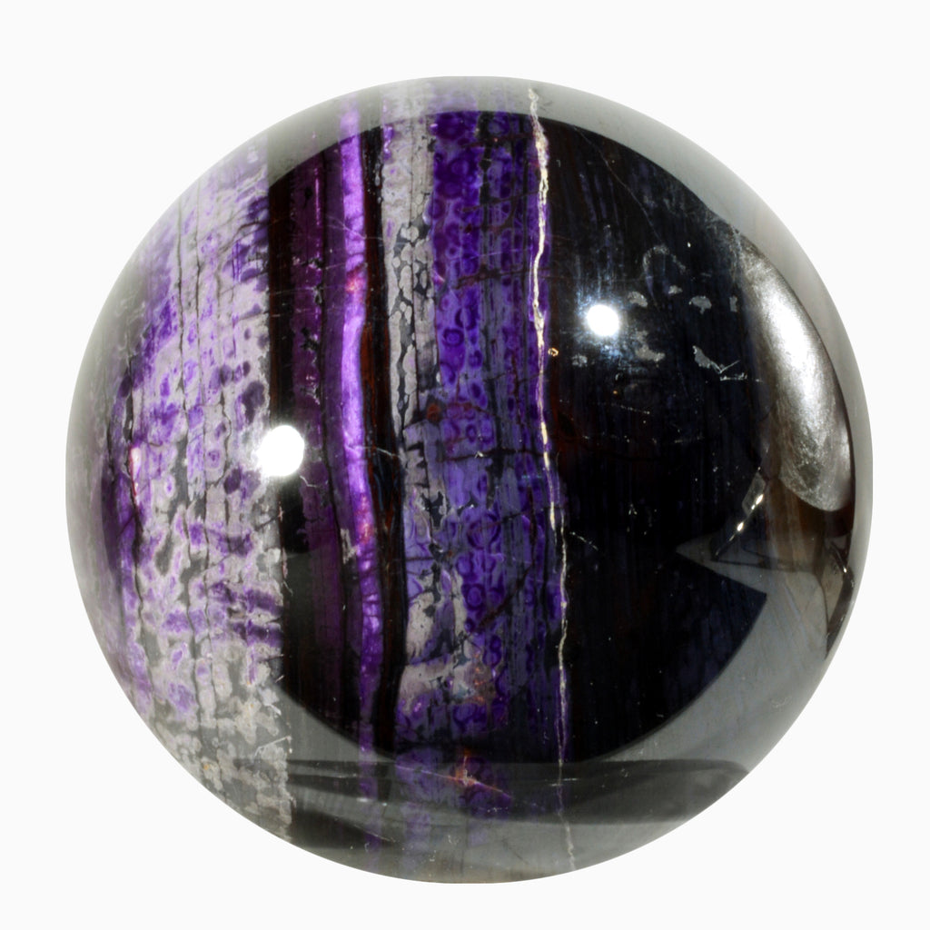 Sugilite 3.11 inch 1.79 lbs Natural Crystal Sphere - South Africa