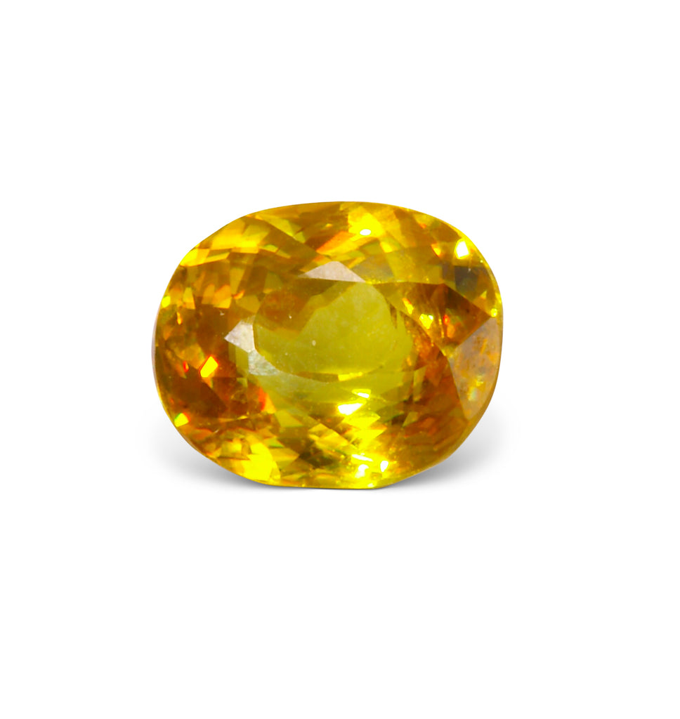 Sphene 9.54mm 6.82ct Natural Faceted Gemstone - Madagascar