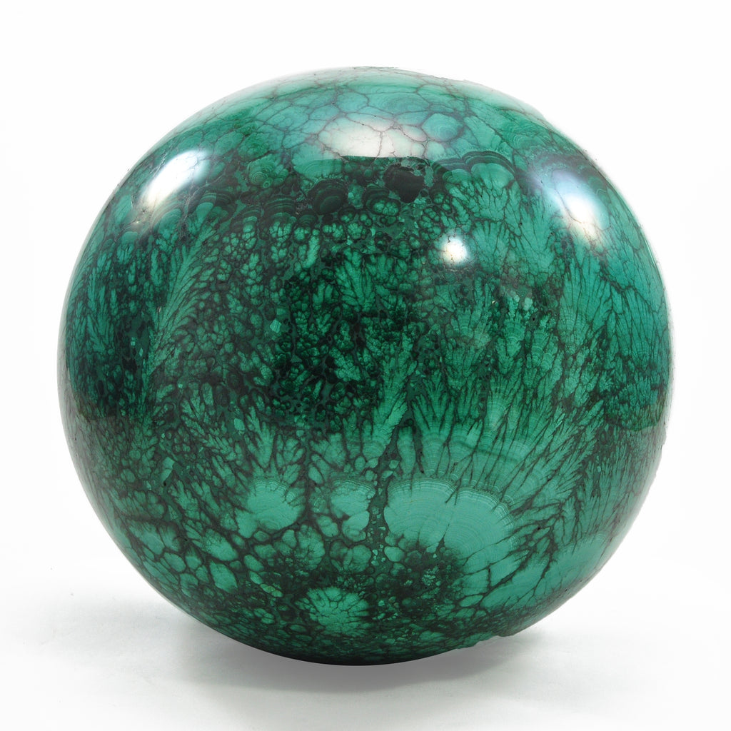 Malachite 5.89 inches Natural Crystal Sphere - Congo