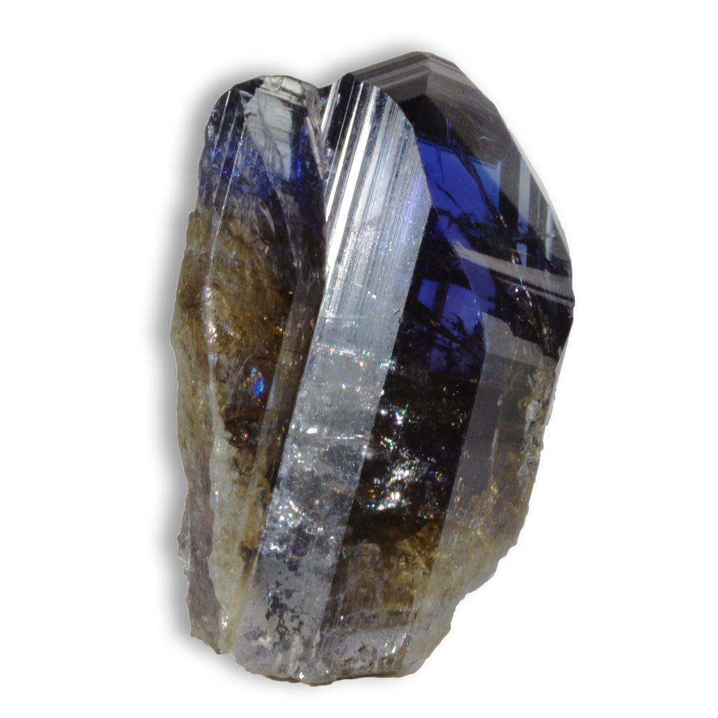 Tanzanite 50.8 mm 48.7 gram Natural Unheated Gem Crystal - Tanzania