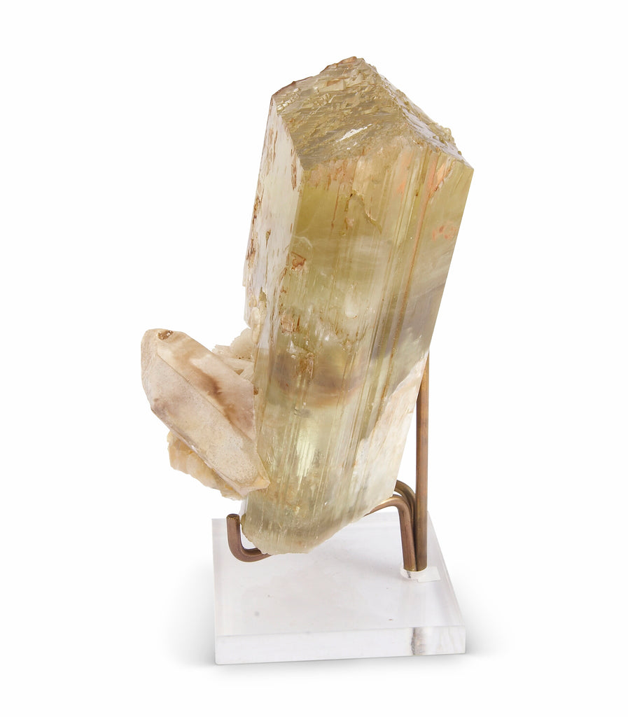 Spodumene Hiddenite 7.0 inch 5.09 lbs Natural Gem Crystal