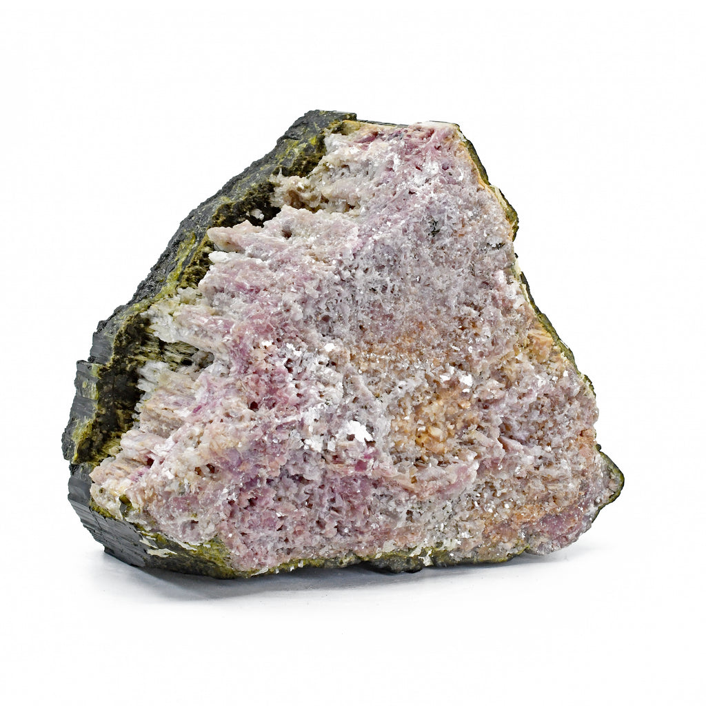 Lepidolite after Tourmaline 4.8inch 3.87lbs Natural Crystal - Brazil