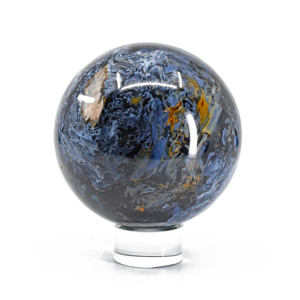Pietersite 3.9 inch 3.05 lbs Natural Crystal Sphere