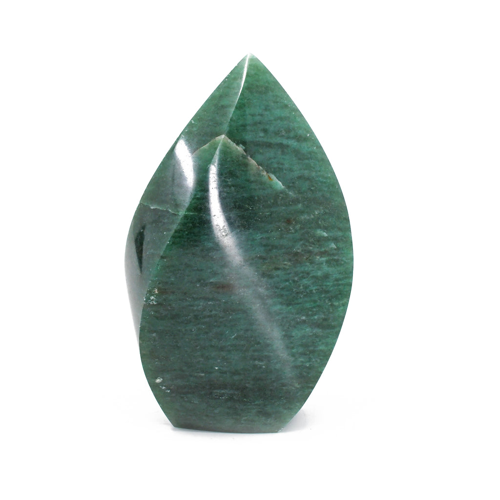 Aventurine 5.95 inch 2 lbs Polished Crystal Flame