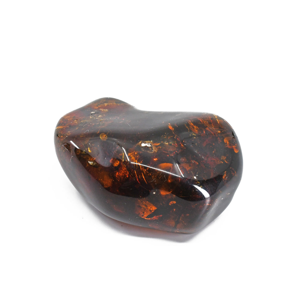 Amber 2.57 inch 52.9 grams Polished Freeform Crystal - Mexico