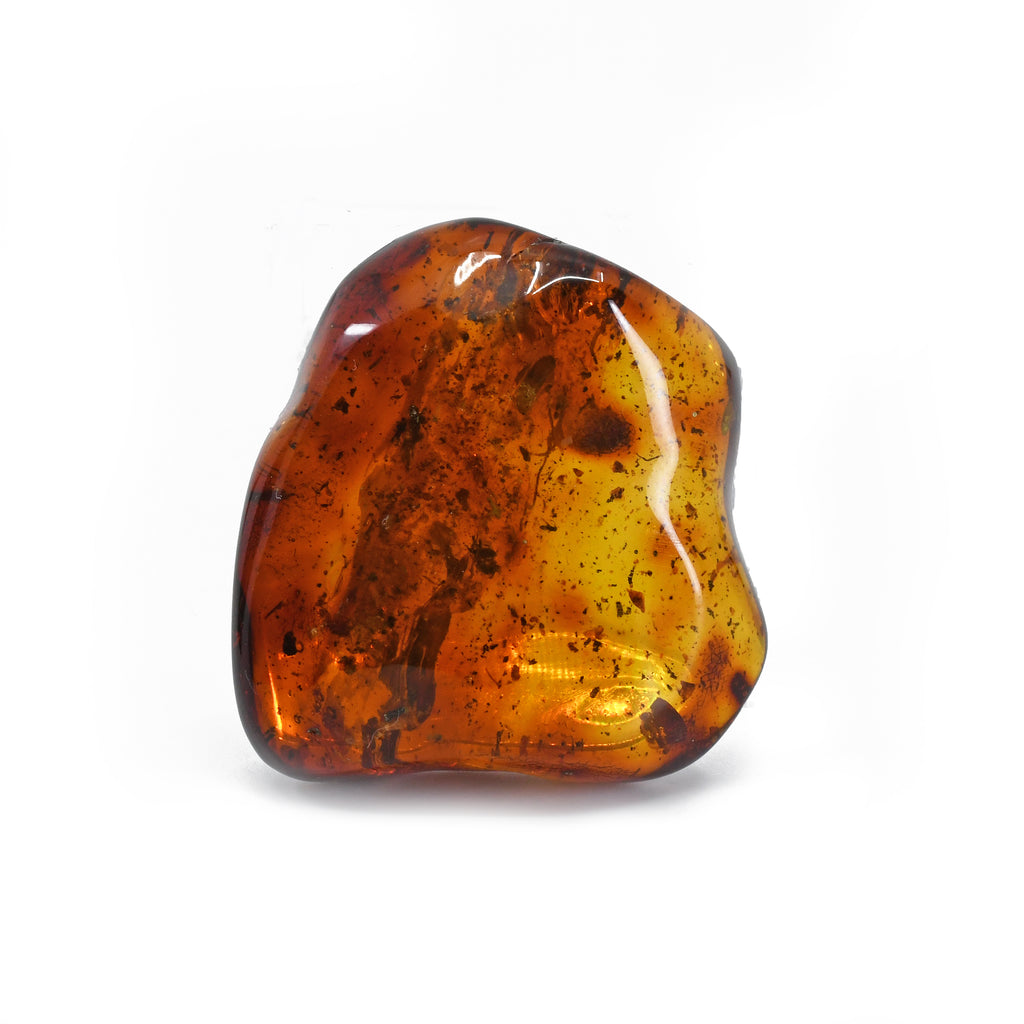 Amber 2.23 inch 36.1 grams Polished Freeform Crystal - Mexico