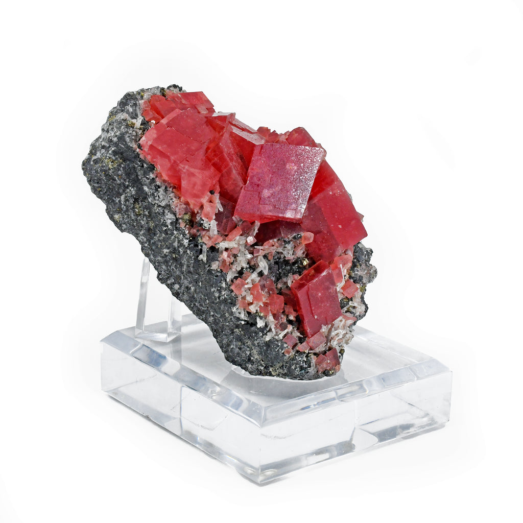 Sweet Home Rhodochrosite 4.8 inch 1.98 lbs Natural Gem Crystal Specimen - Colorado