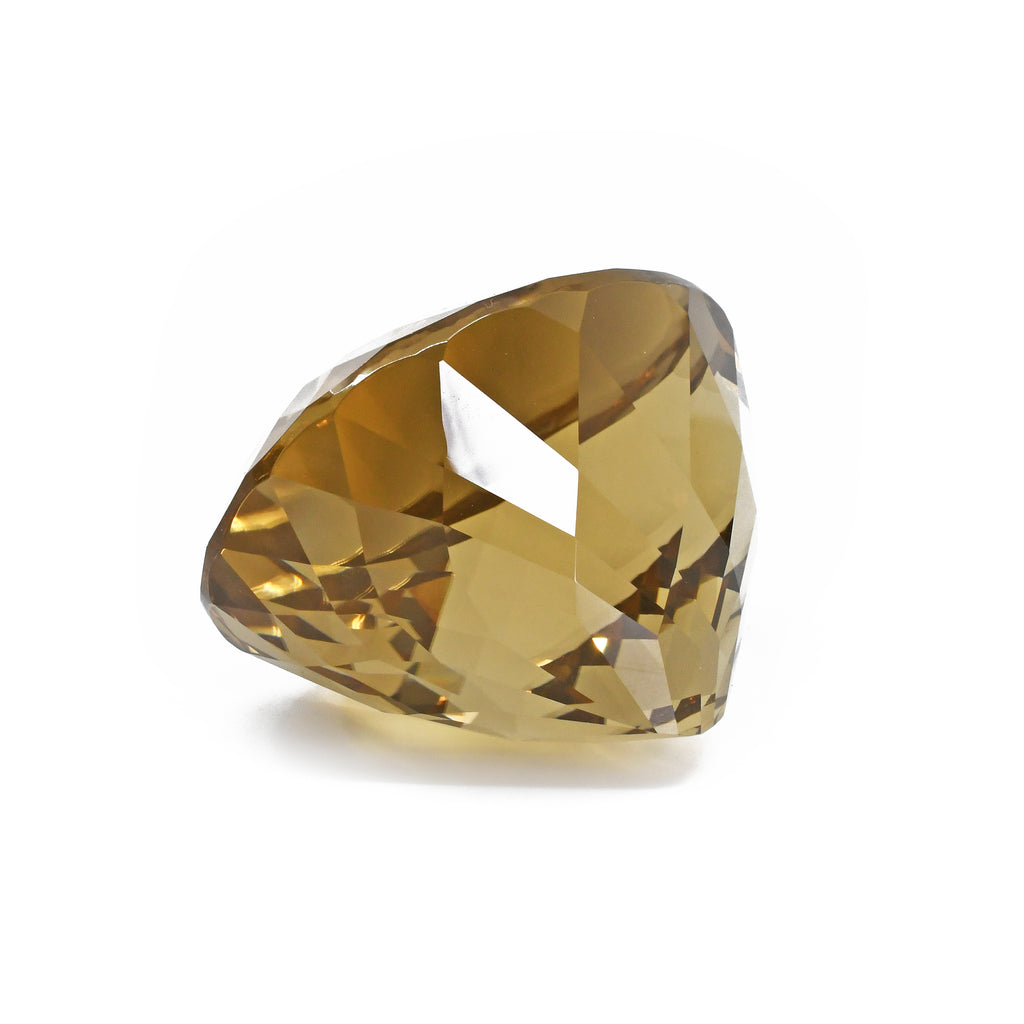 Large Citrine 62.97 mm 126.6 grams Faceted Gemstone