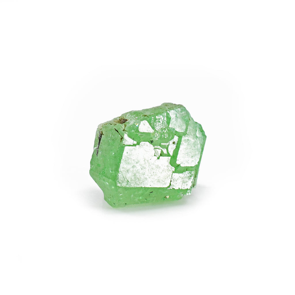 Tsavorite 15.66 mm 2.6 grams Natural Gem Crystal - Tanzania