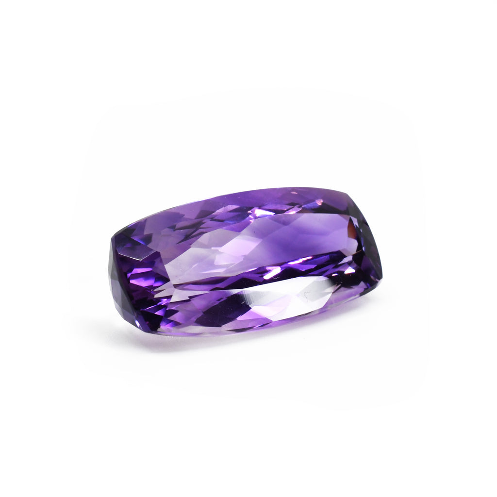 Bi Color Amethyst 30.03ct 31.44mm Faceted Gemstone