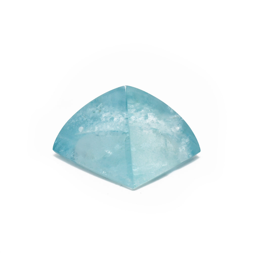 Aquamarine 175.5ct Polished Freeform Gem Crystal - Tanzania