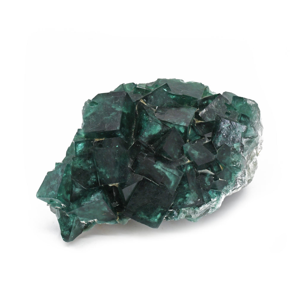 Green Fluorite 4.72 inch 3.85 lbs Natural Crystal Cluster - Madagascar