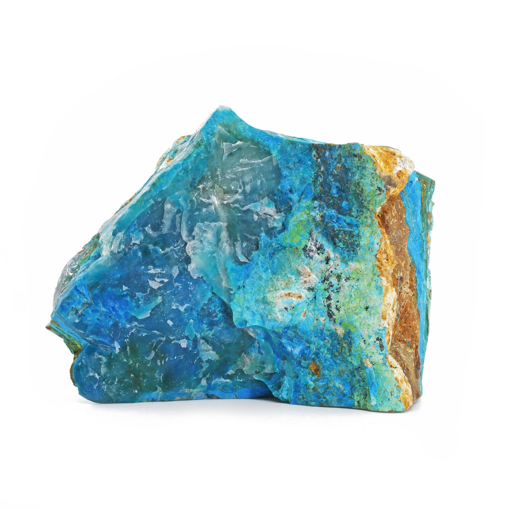 Blue Opal 5.30 inch 1.45 lbs Natural Freeform Crystal in Matrix - Indonesia