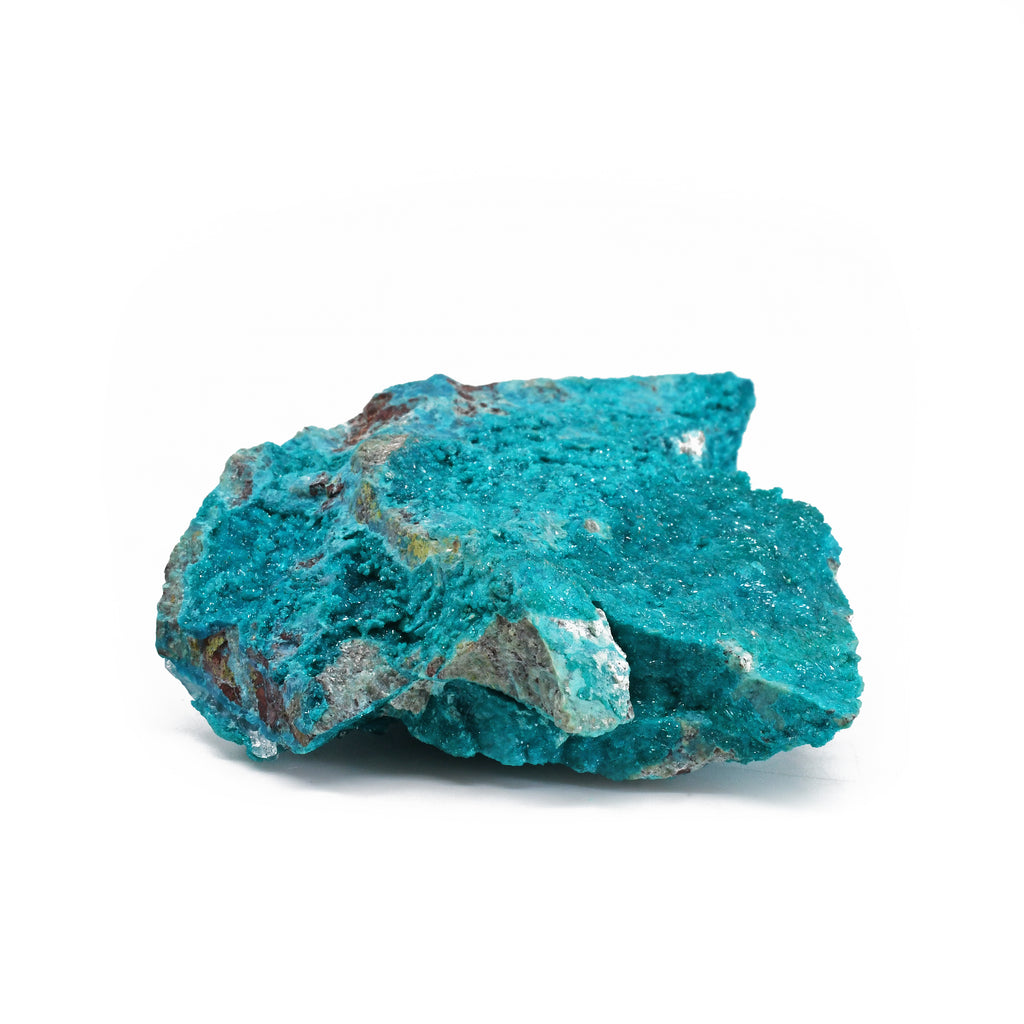 Dioptase with Shattuckite 3.30 inch 115 gram with Quartz Natural Crystal Cluster - Mexico