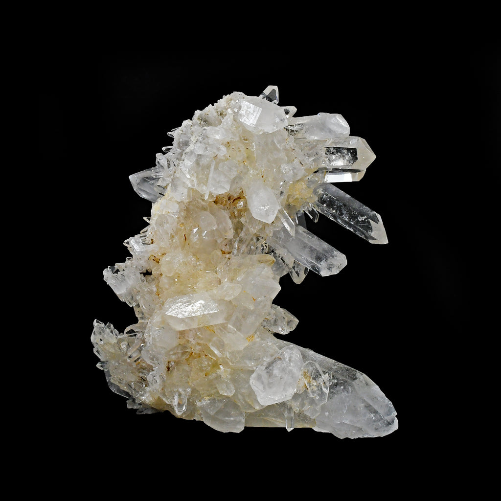 Quartz 4.5 inch 1.23 lbs Natural Crystal Cluster - Colombia