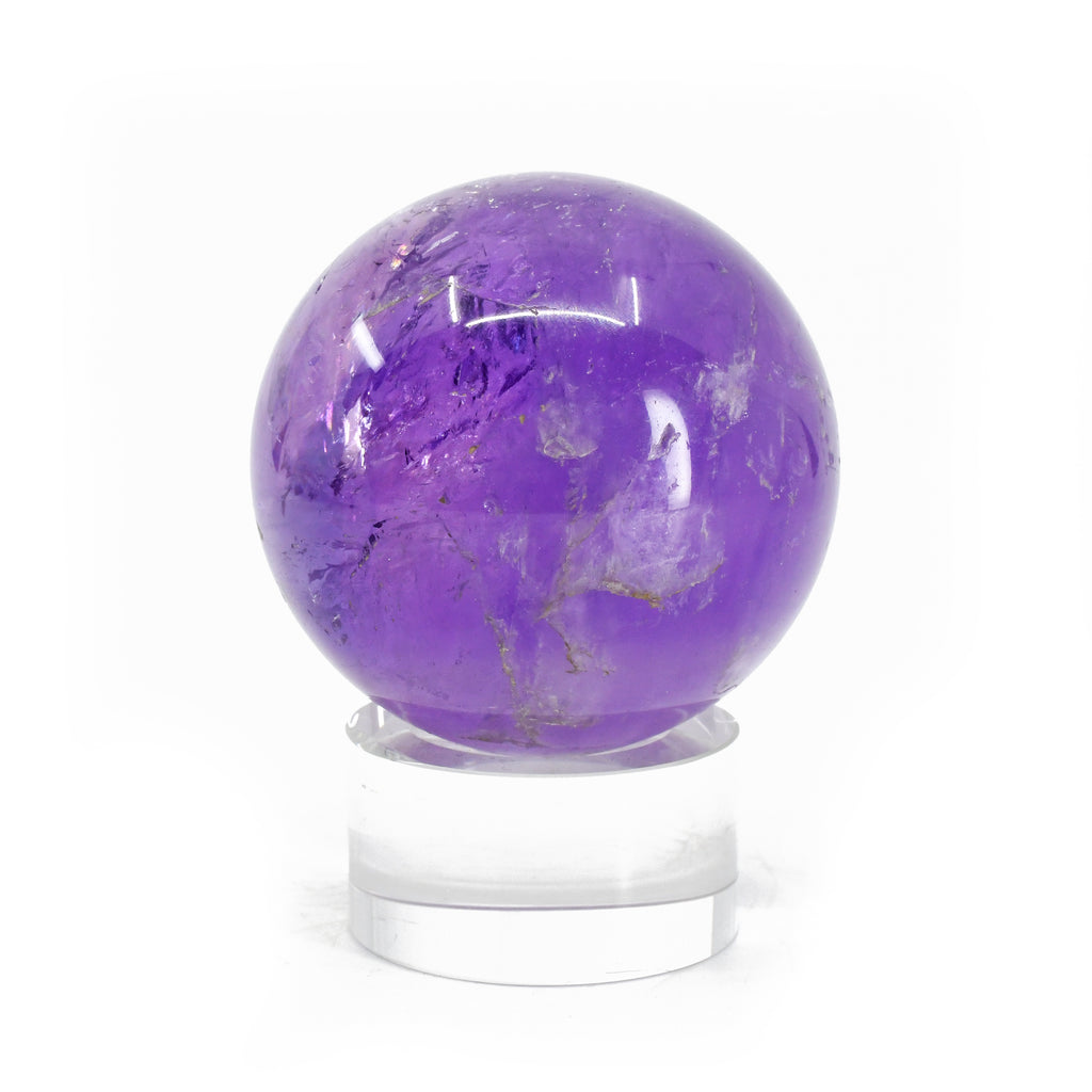 "Amethyst 2.18"" Polished Crystal Sphere - Brazil"