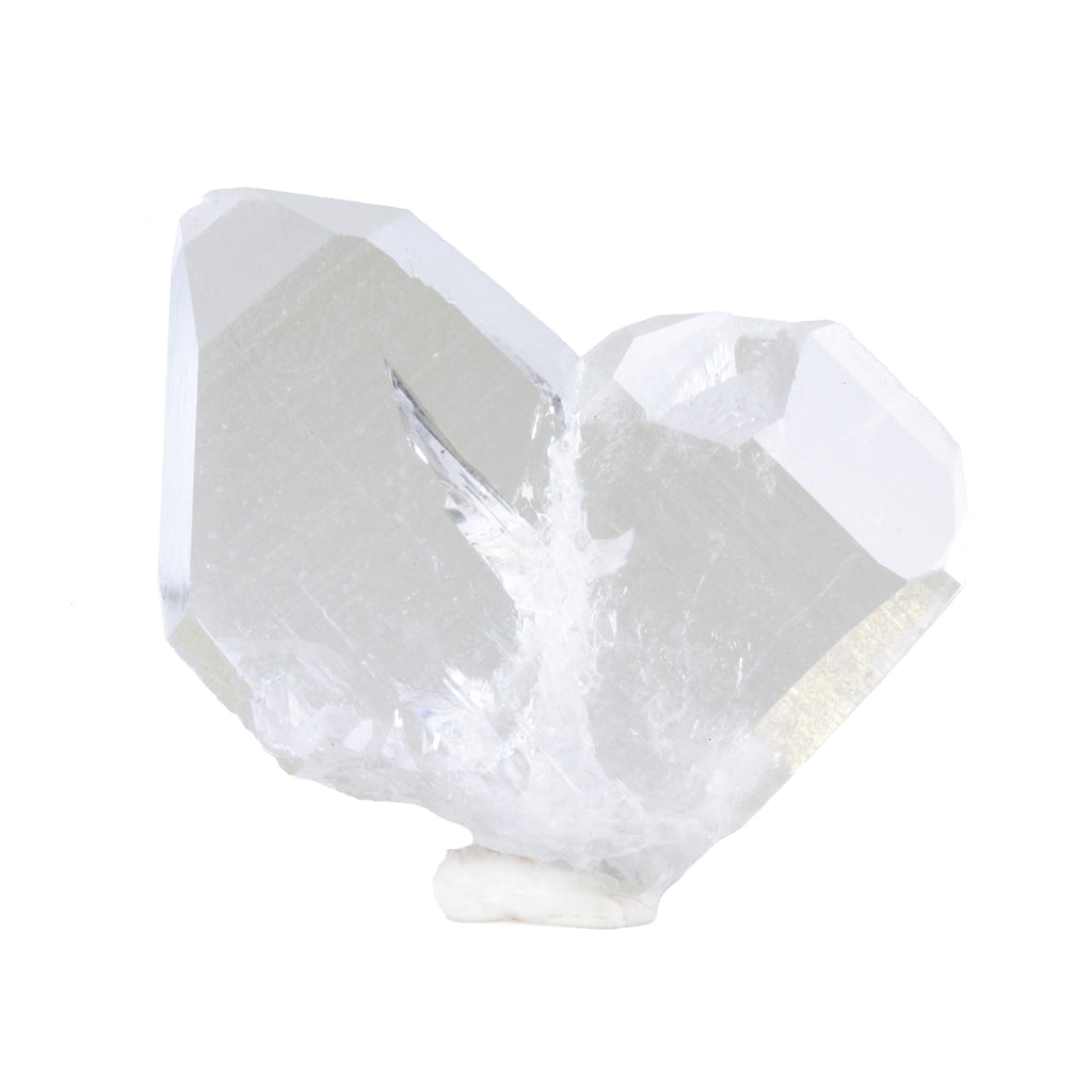 Japan Law Clear Quartz 12.9 gram Natural Crystal Twin - Nepal