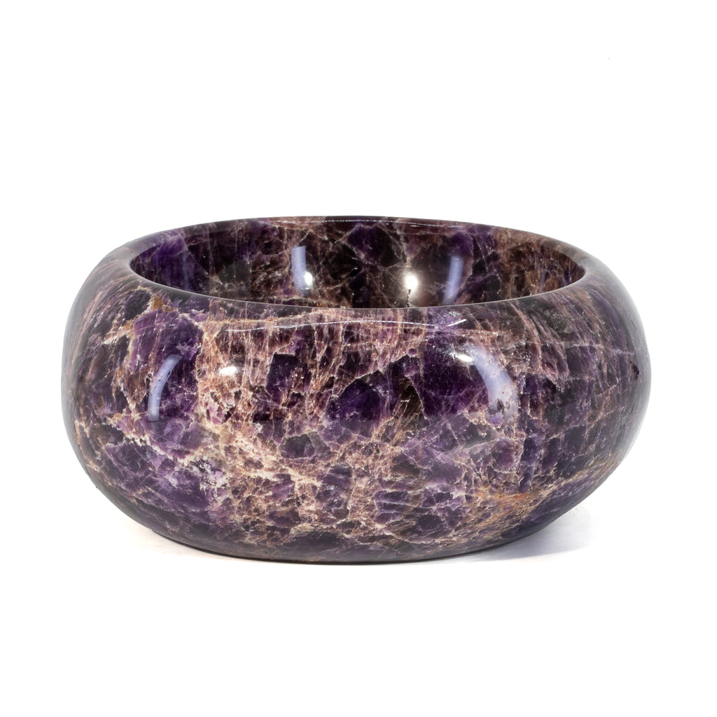 Amethyst 6.2 inch 4.5lb Polished Freeform Crystal Bowl - Brazil