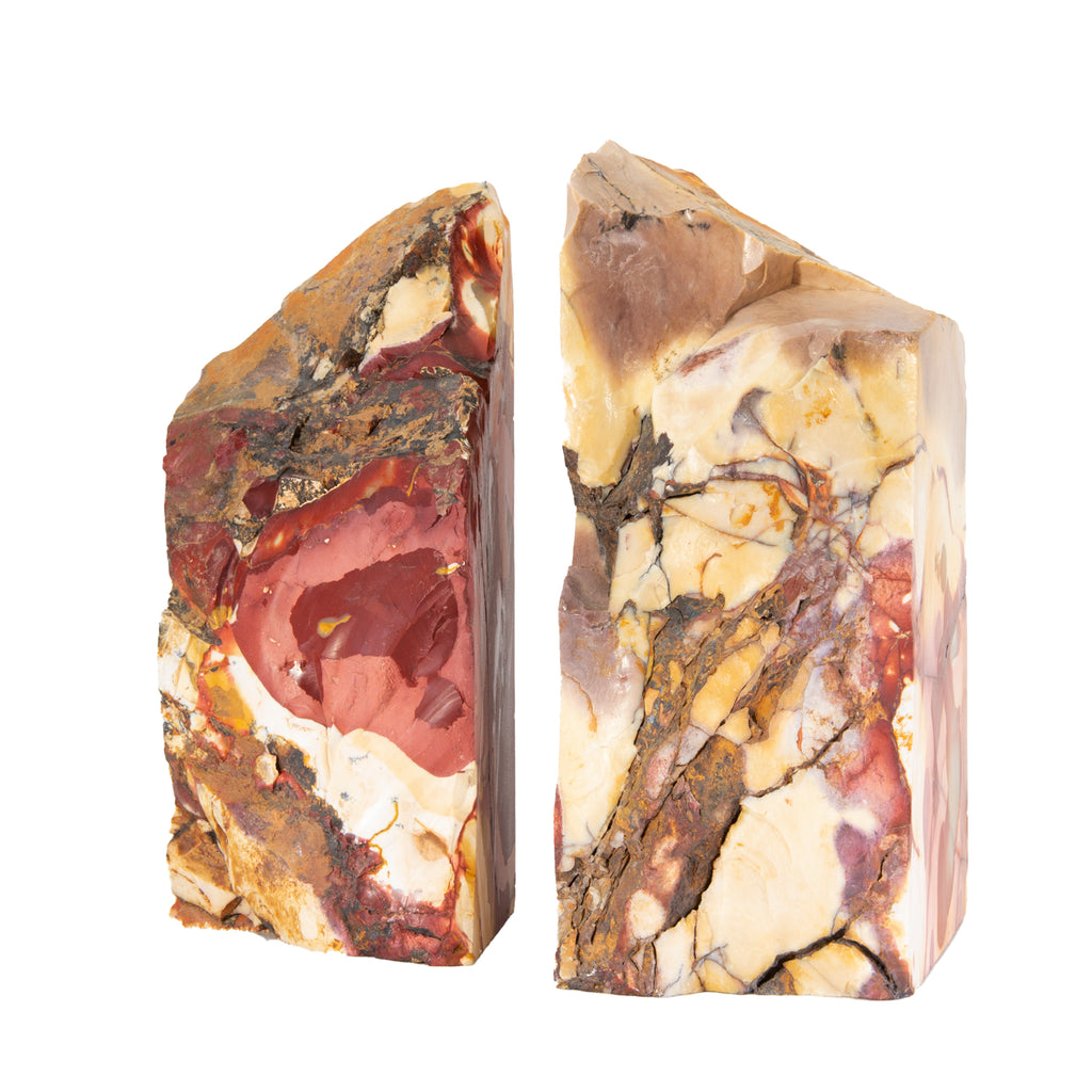 Mookaite 8.5 inch Polished Jasper Bookends - Australia