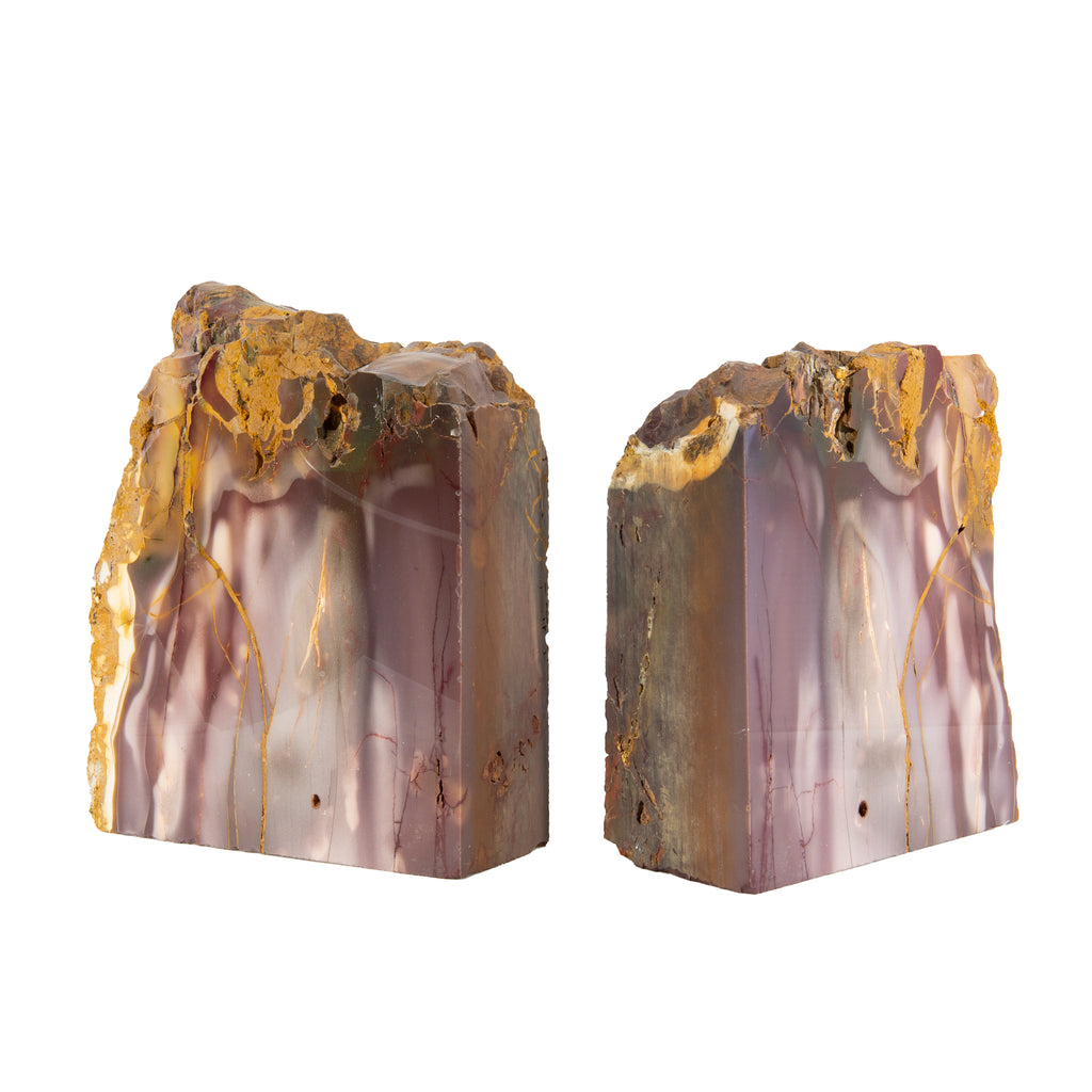 Mookaite 6.5 inch Polished Jasper Bookends - Australia
