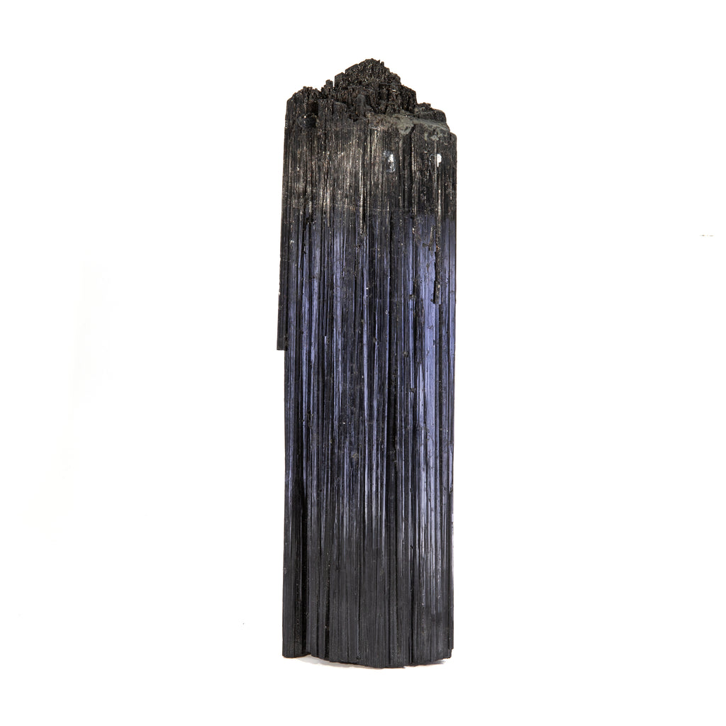 Black Tourmaline 10.5 inch 4.82 lb Natural Crystal - Brazil