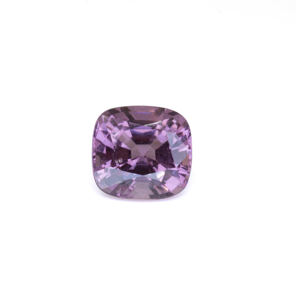 Purple Spinel 3.73 carat Cushion Cut Faceted Gemstone