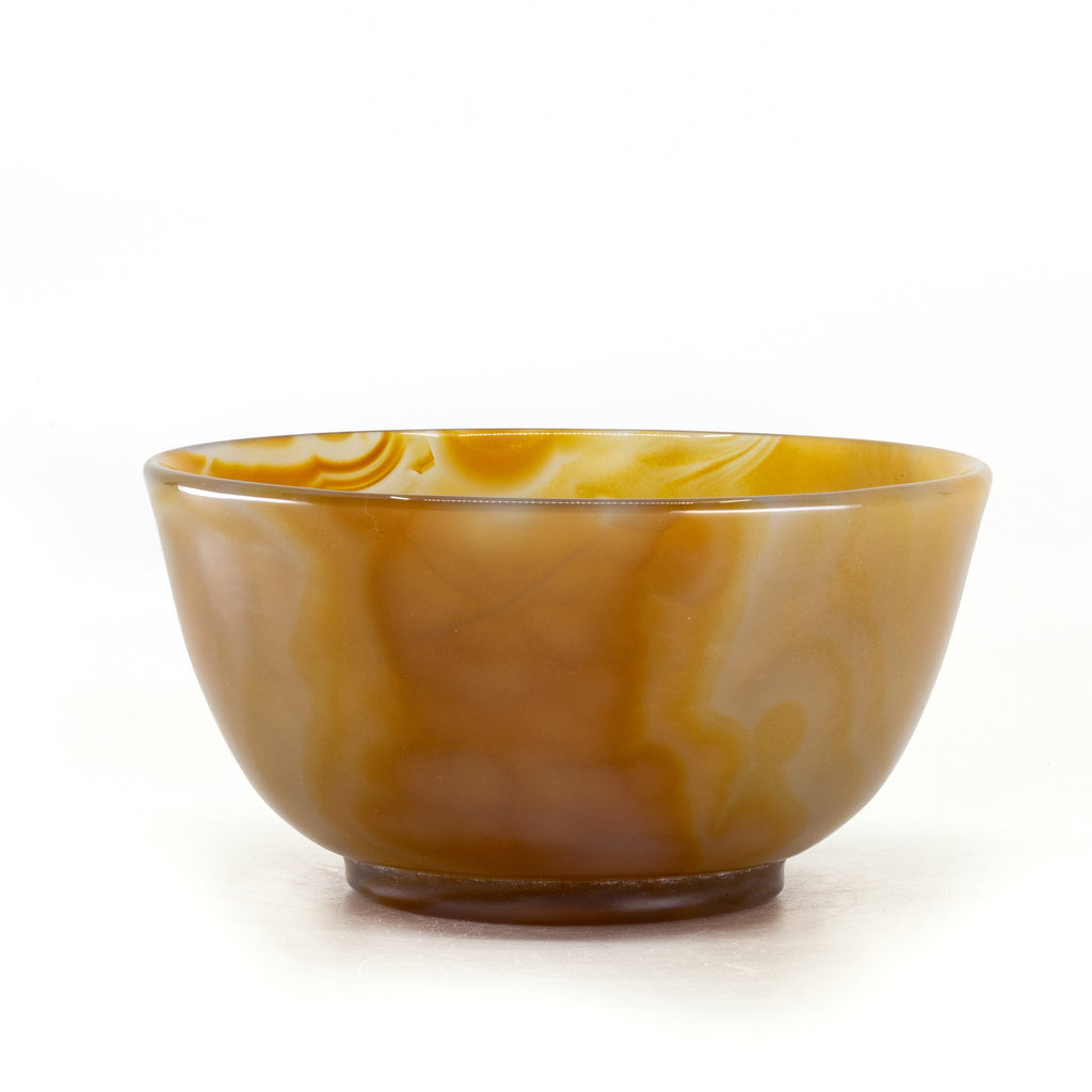 Agate 3.9 inch 186 gram Polished Crystal Bowl