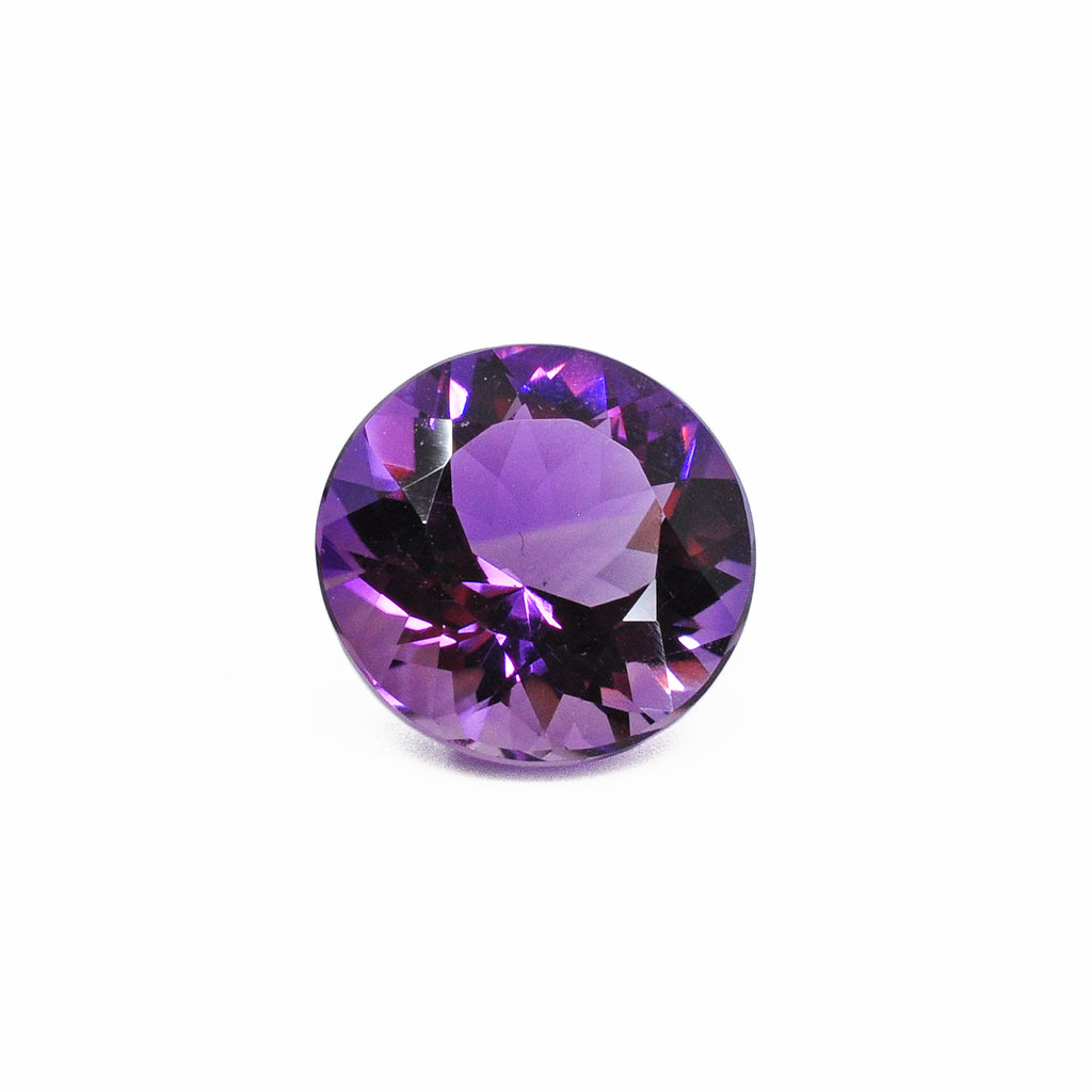 Amethyst 15.0 mm 10.5 carats Natural Crystal Faceted Gemstone