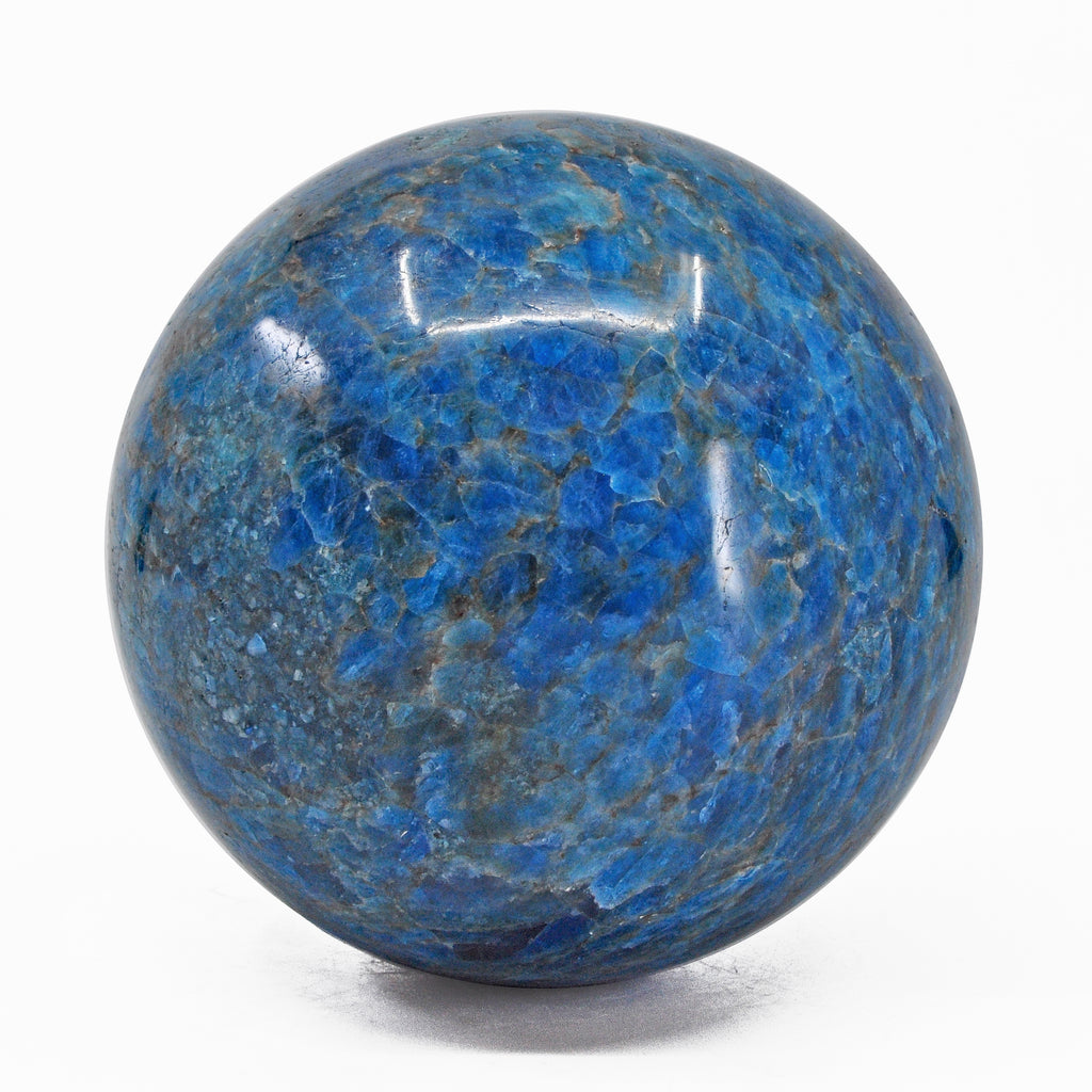 Apatite 3.95 inch 3.97 lb Natural Crystal Sphere - Madagascar