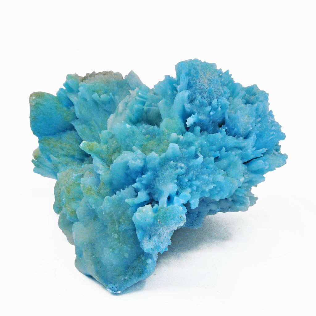 Blue Aragonite 7.5 inch 4.5 lbs Natural Mineral Specimen - China