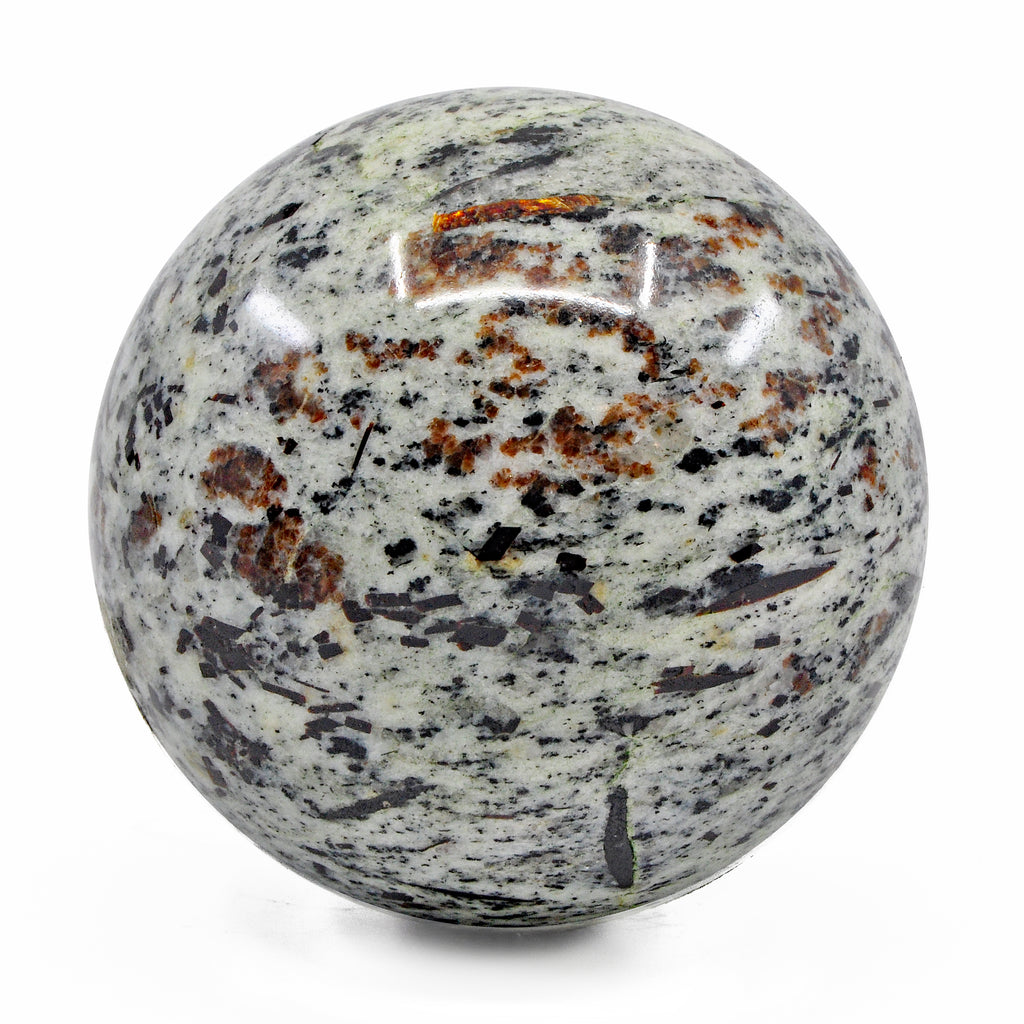Astrophyllite 3.15 inch 1.60 lbs Natural Crystal Polished Sphere - Russia