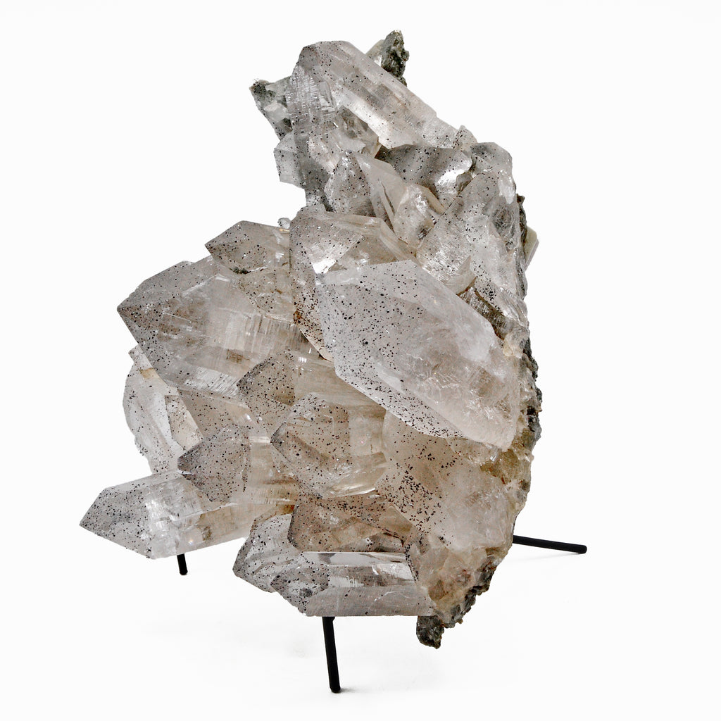 Quartz 14 lbs 11 inch with Chlorite and Anatase Natural Crystal Cluster - Himalayan