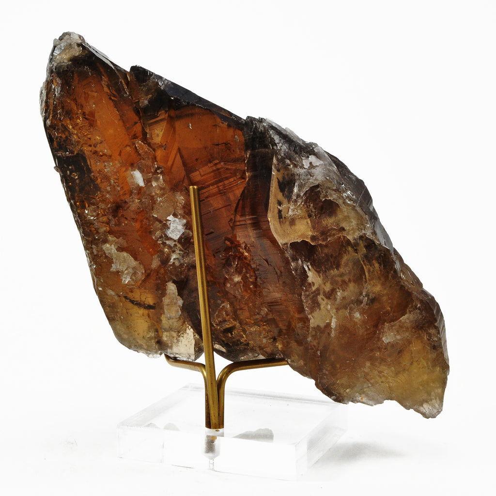 Smoky Citrine 7.0 inch 2.29 lbs Natural Cathedral Crystal - Brazil