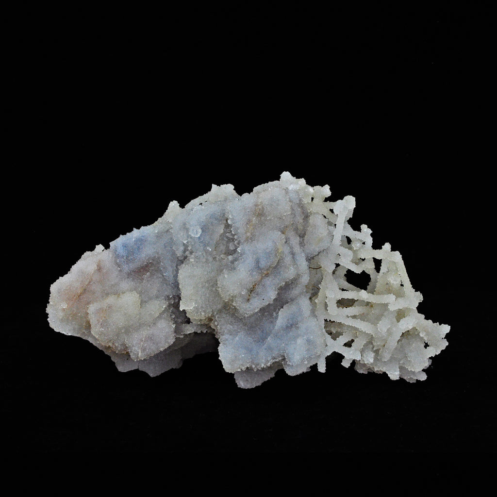 Chalcedony and Calcite Natural Pseudomorph Crystal-India