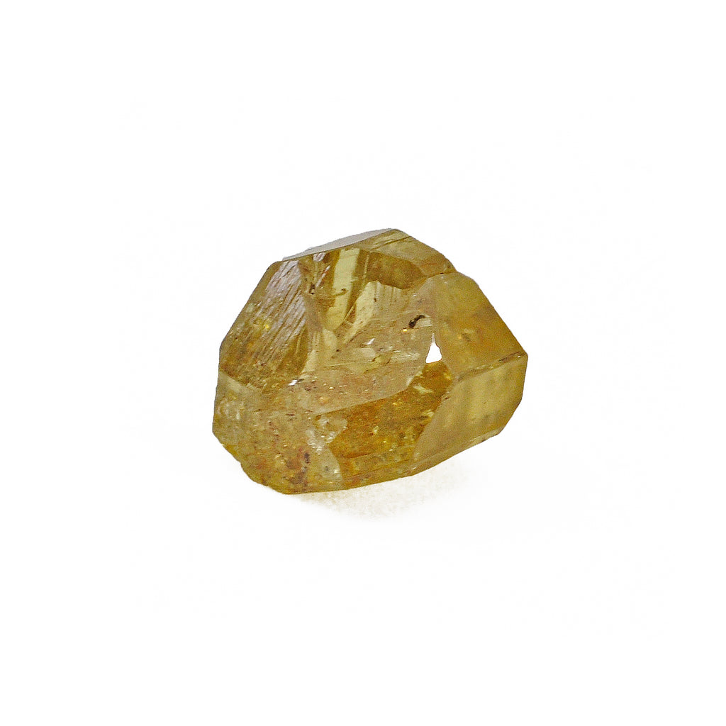Chrysoberyl - Yellow Gem Crystal