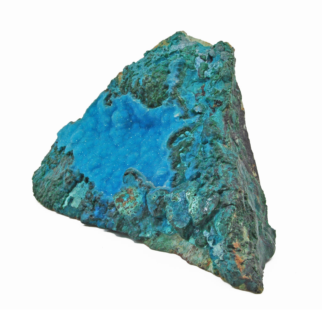 Druzy Chrysocolla 5.85 inch 0.95 lbs Natural Crystal Specimen - Arizona