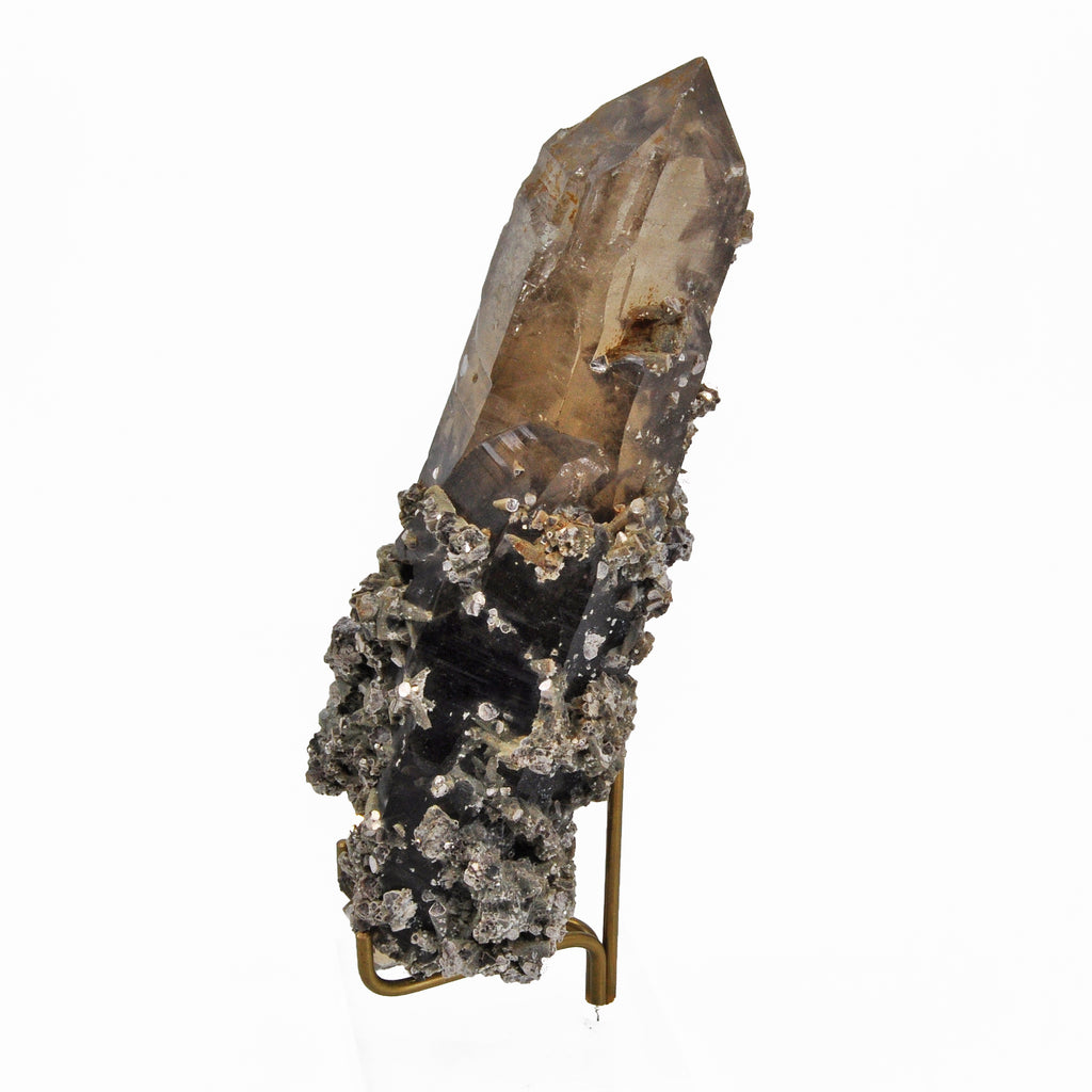 Citrine with Mica 7.3 inch 1.4 lbs Natural Crystal Point - Brazil