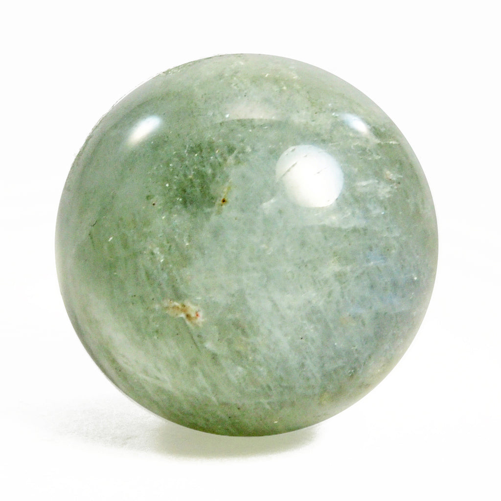 Blue Flash Moonstone 15.11 mm 23.58 ct Natural Crystal Polished Sphere